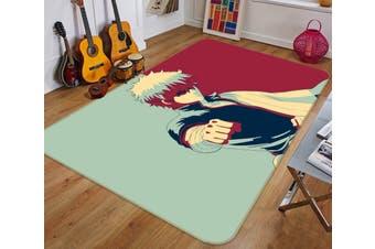 "3D Gintama 617 Anime Non Slip Rug Mat, 60cmx90cm (23.6""x35.4"")"