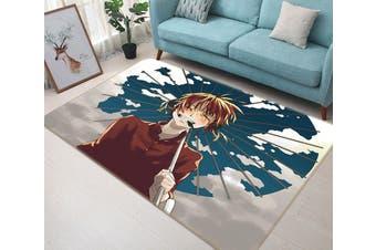 "3D Gintama 6437 Anime Non Slip Rug Mat, 120cmx180cm (47.2""x70.9"")"