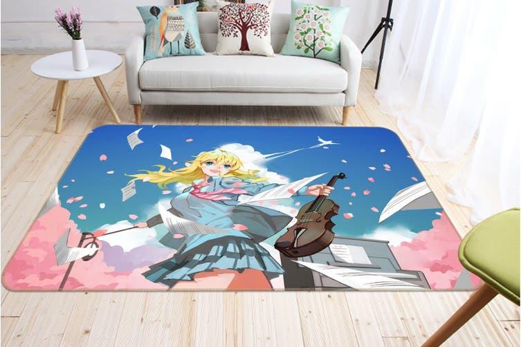 "3D Fox Spirit Matchmaker 637 Anime Non Slip Rug Mat, 160cmx240cm (63""x94.5"")"
