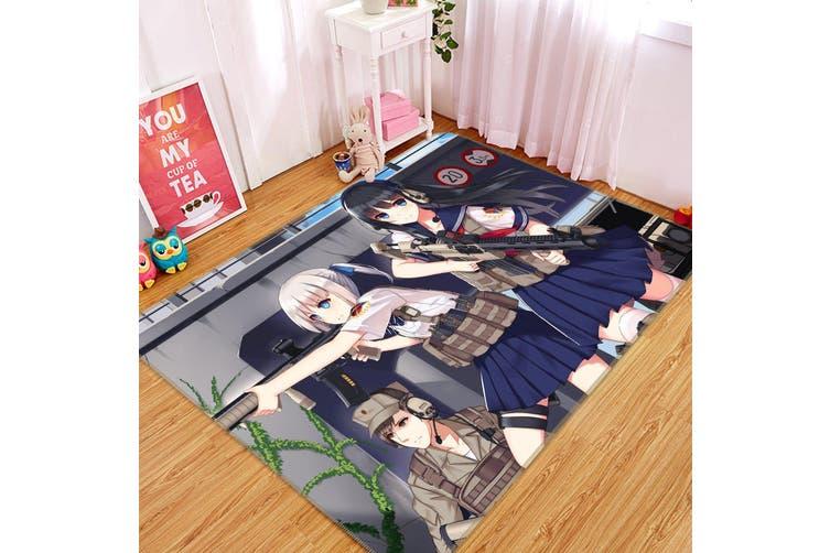 """3D Fleet Girls Collection 232 Anime Non Slip Rug Mat, 120cmx180cm (47.2""""x70.9"""")"""