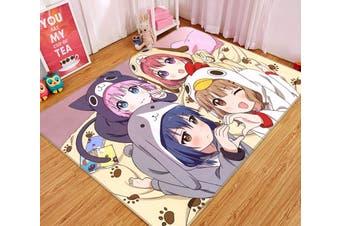 """3D Yuruyuri 45 Anime Non Slip Rug Mat, 40cmx60cm (15.7""""x23.6"""")"""