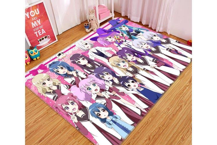 """3D Yuruyuri 234 Anime Non Slip Rug Mat, 60cmx90cm (23.6""""x35.4"""")"""