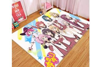 """3D Yuruyuri 644 Anime Non Slip Rug Mat, 140cmx200cm (55.1""""x78.8"""")"""