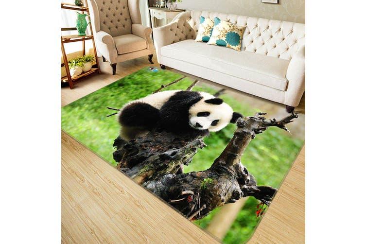 "3D Funny Panda 259 Non Slip Rug Mat, 120cmx180cm (47.2""x70.9"")"