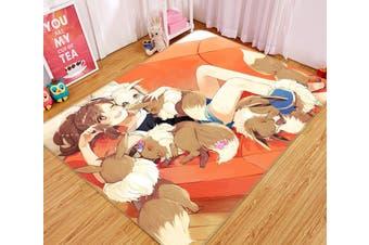 "3D Pok茅mon 58 Anime Non Slip Rug Mat, 120cmx180cm (47.2""x70.9"")"