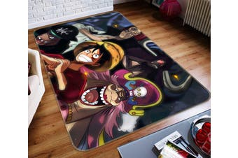 "3D ONE PIECE 76 Anime Non Slip Rug Mat, 60cmx90cm (23.6""x35.4"")"