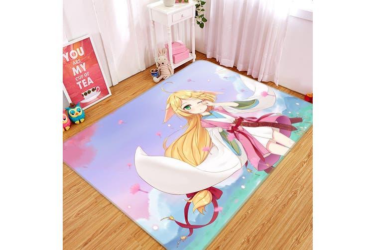 "3D Fox Spirit Matchmaker 6435 Anime Non Slip Rug Mat, 160cmx240cm (63""x94.5"")"