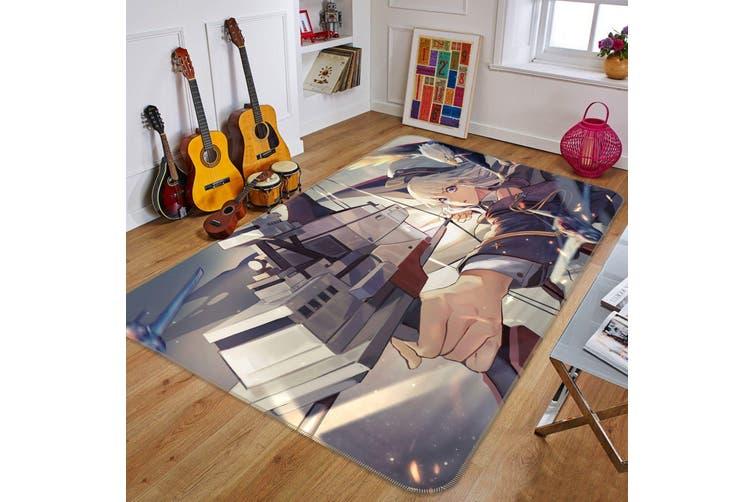 """3D Fleet Girls Collection 465 Anime Non Slip Rug Mat, 140cmx200cm (55.1""""x78.8"""")"""