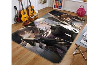"""3D Fleet Girls Collection 421 Anime Non Slip Rug Mat, 40cmx60cm (15.7""""x23.6"""")"""