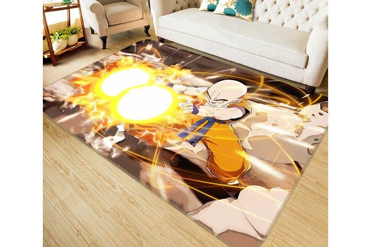"3D Bald Head Ray 131 Anime Non Slip Rug Mat, 60cmx90cm (23.6""x35.4"")"