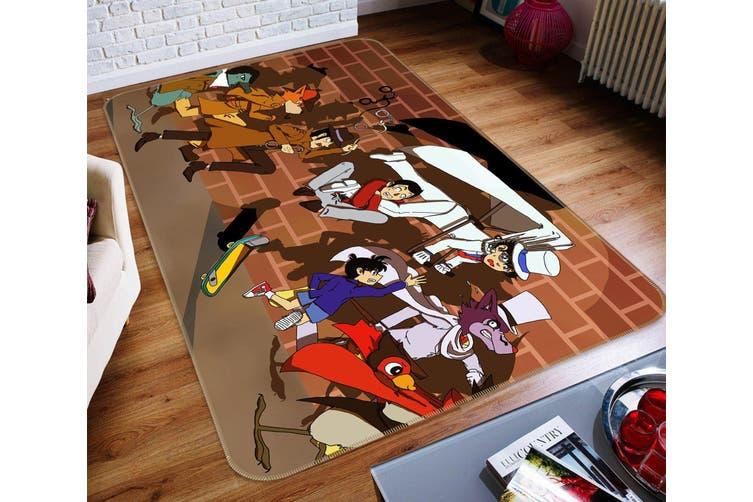 """3D Detective Conan Case Closed 131 Anime Non Slip Rug Mat, 140cmx200cm (55.1""""x78.8"""")"""