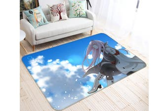"3D DARLING In The FRANXX 322 Anime Non Slip Rug Mat, 80cmx120cm (31.4""x47.24"")"