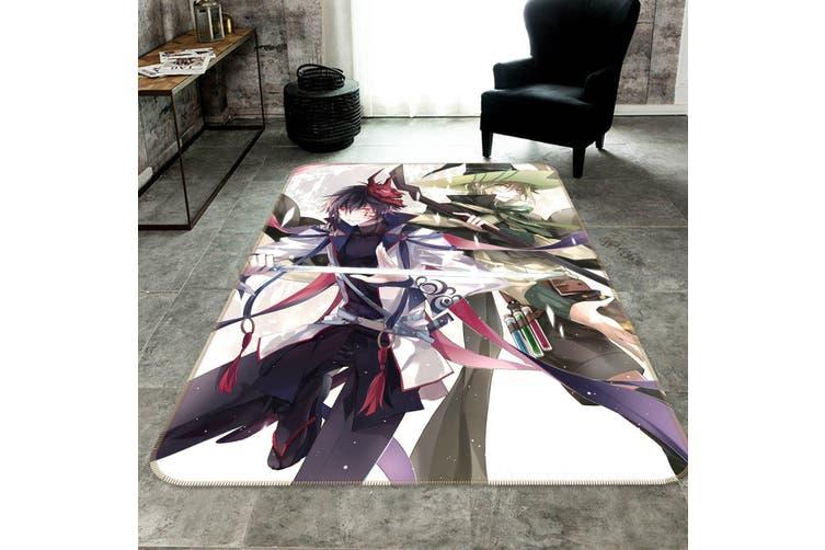 """3D Full Time Master 75 Anime Non Slip Rug Mat, 160cmx240cm (63""""x94.5"""")"""