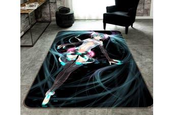 """3D Hatsune 70 Anime Non Slip Rug Mat, 120cmx180cm (47.2""""x70.9"""")"""