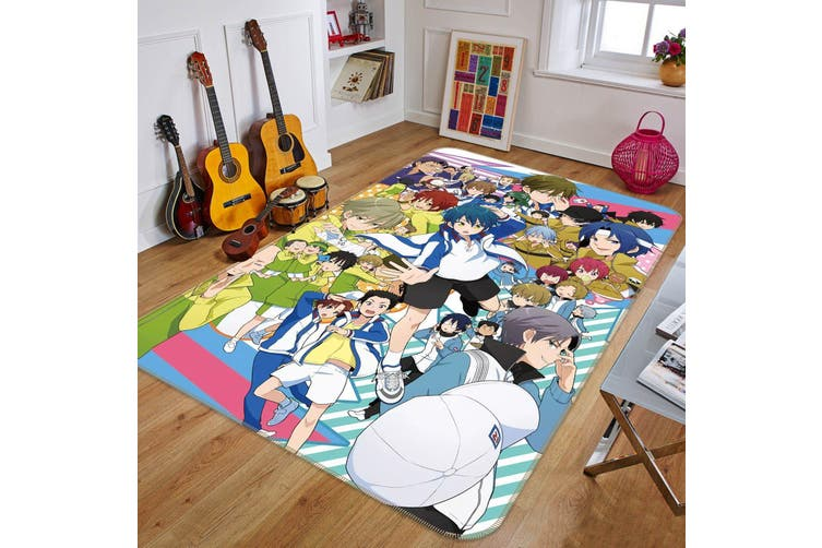 "3D Tennis Prince 69 Anime Non Slip Rug Mat, 160cmx240cm (63""x94.5"")"
