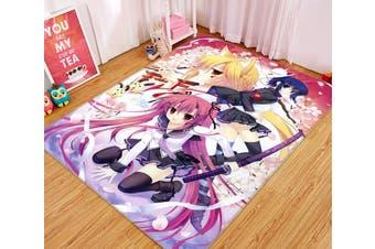 """3D Anime Girl 65 Anime Non Slip Rug Mat, 40cmx60cm (15.7""""x23.6"""")"""