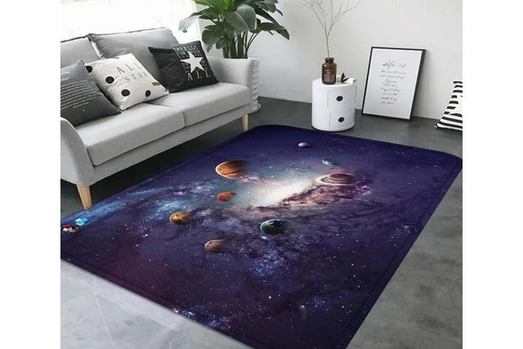 "3D Space Planets 87 Non Slip Rug Mat, 160cmx240cm (63""x94.5"")"