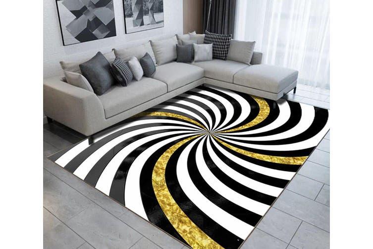 "3D Colored Lines WG509 Non Slip Rug Mat, 160cmx240cm (63""x94.5"")"