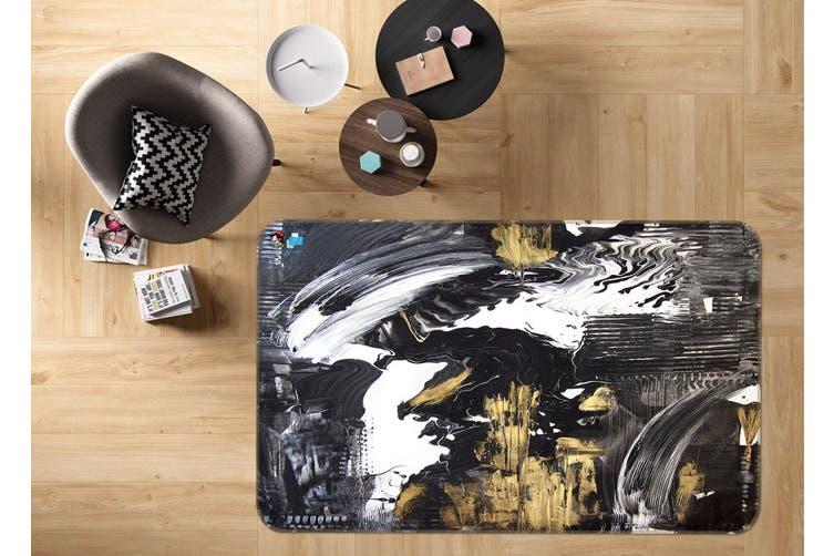 "3D Abstract Painting 35 Non Slip Rug Mat, 60cmx90cm (23.6""x35.4"")"