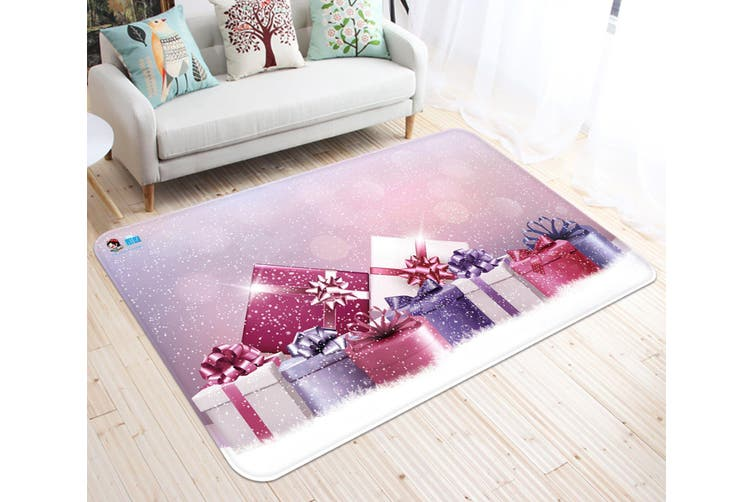 "3D Beautiful Gift Box 032 Non Slip Rug Mat, 140cmx200cm (55.1""x78.8"")"