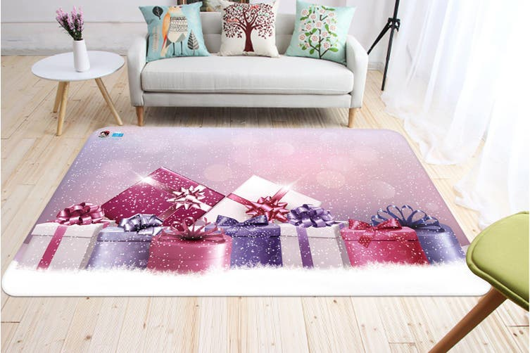 "3D Beautiful Gift Box 032 Non Slip Rug Mat, 160cmx240cm (63""x94.5"")"