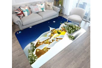 "3D Cartoon Star Tree 025 Non Slip Rug Mat, 60cmx90cm (23.6""x35.4"")"