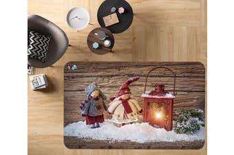"""3D Oil Lamp Doll 016 Non Slip Rug Mat, 60cmx90cm (23.6""""x35.4"""")"""
