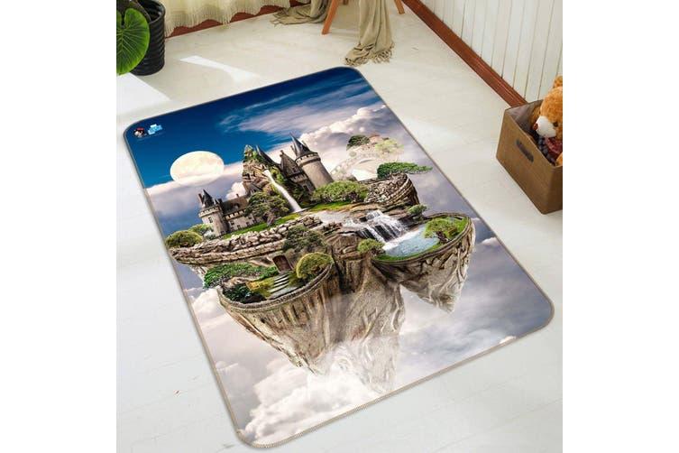 "3D Aerial Castle 045 Non Slip Rug Mat, 40cmx60cm (15.7""x23.6"")"