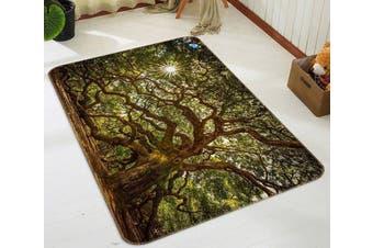 """3D Cover Tree 686 Non Slip Rug Mat, 40cmx60cm (15.7""""x23.6"""")"""