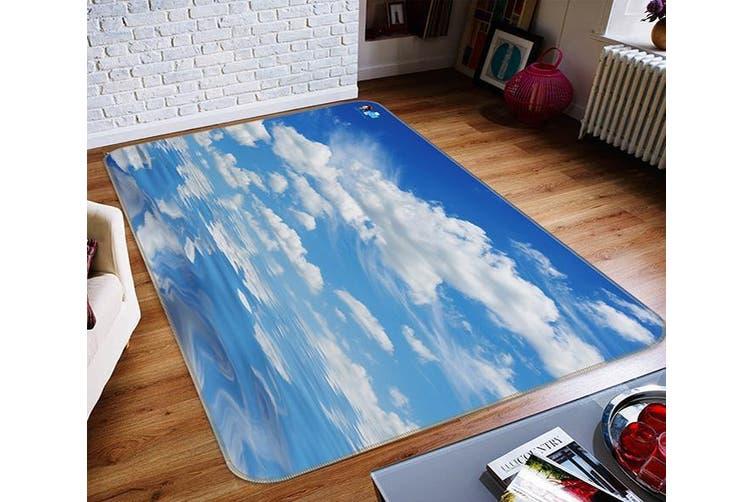"3D Sky White Clouds 662 Non Slip Rug Mat, 40cmx60cm (15.7""x23.6"")"