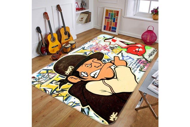 """3D Cartoon Character 530 Non Slip Rug Mat, 120cmx180cm (47.2""""x70.9"""")"""