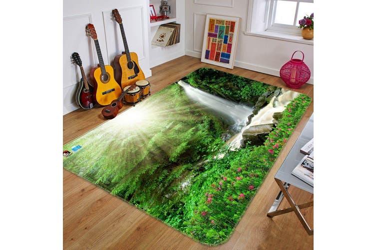 "3D Sunshine Waterfall 522 Non Slip Rug Mat, 60cmx90cm (23.6""x35.4"")"