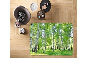 """3D Lawn Woods 513 Non Slip Rug Mat, 140cmx200cm (55.1""""x78.8"""")"""