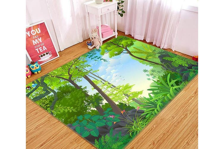 "3D Cartoon Woods 495 Non Slip Rug Mat, 40cmx60cm (15.7""x23.6"")"
