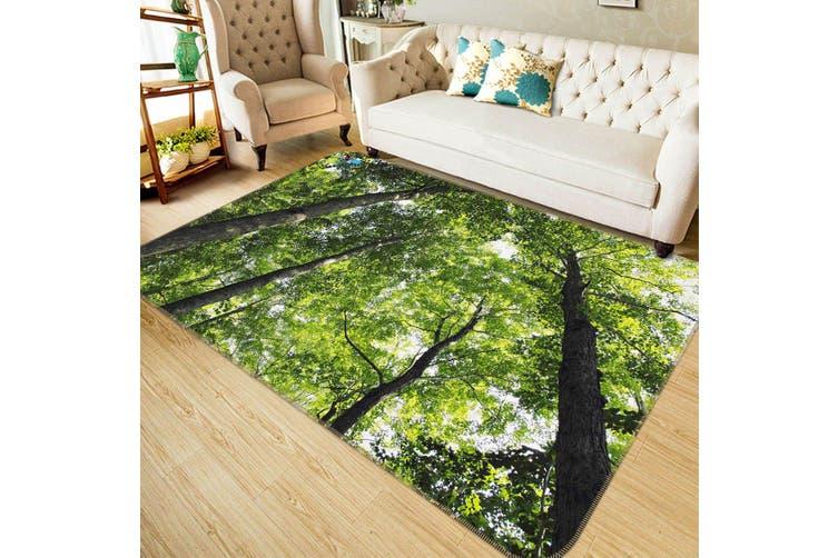 "3D Green Shaded Woods 489 Non Slip Rug Mat, 40cmx60cm (15.7""x23.6"")"