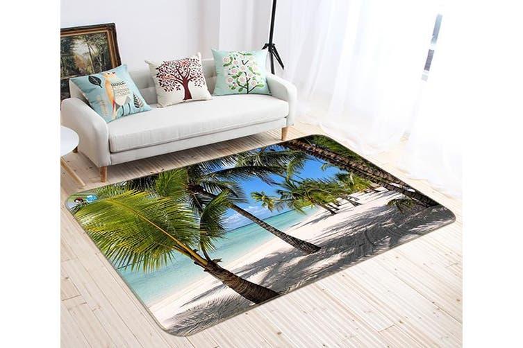 "3D Coconut Tree Shadow 460 Non Slip Rug Mat, 40cmx60cm (15.7""x23.6"")"