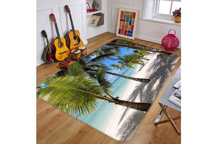 "3D Coconut Tree Shadow 460 Non Slip Rug Mat, 60cmx90cm (23.6""x35.4"")"