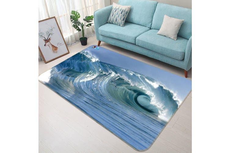 """3D Maritime Surf 458 Non Slip Rug Mat, 160cmx240cm (63""""x94.5"""")"""