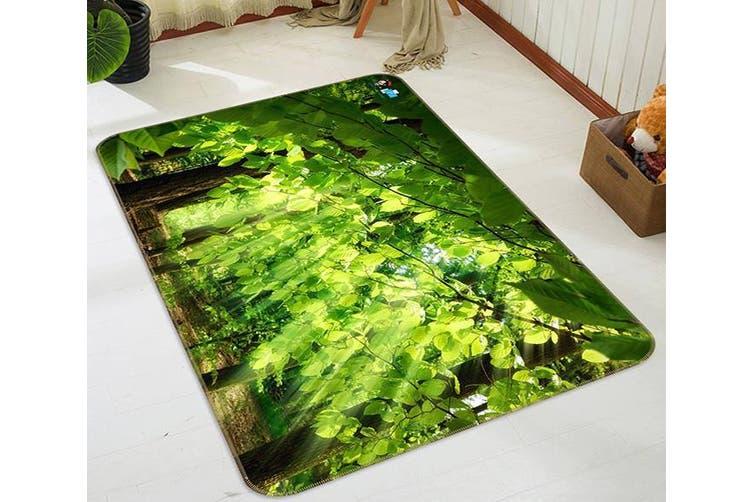 """3D Sunlight Leaves 456 Non Slip Rug Mat, 60cmx90cm (23.6""""x35.4"""")"""