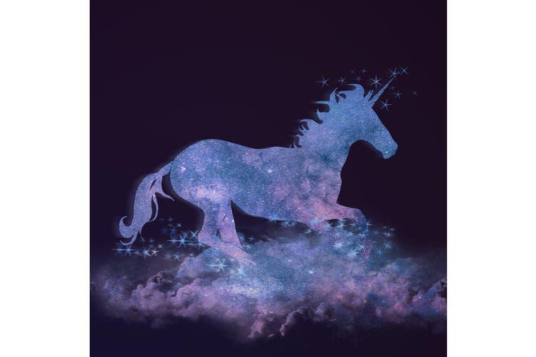 3D Unicorn Pattern 173 Round Non Slip Rug Mat, 120cm(47.2'')