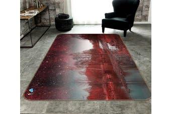 "3D Star Lake 367 Non Slip Rug Mat, 160cmx240cm (63""x94.5"")"