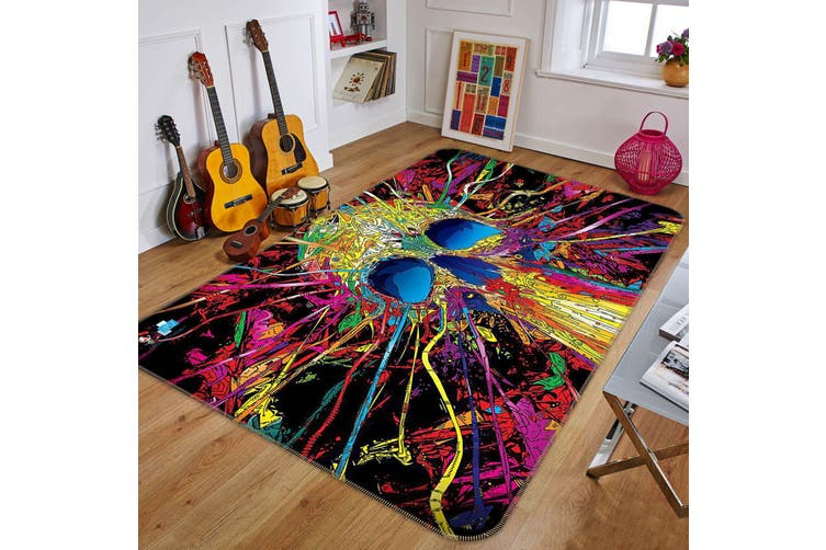 "3D Color Skeleton 360 Non Slip Rug Mat, 120cmx180cm (47.2""x70.9"")"