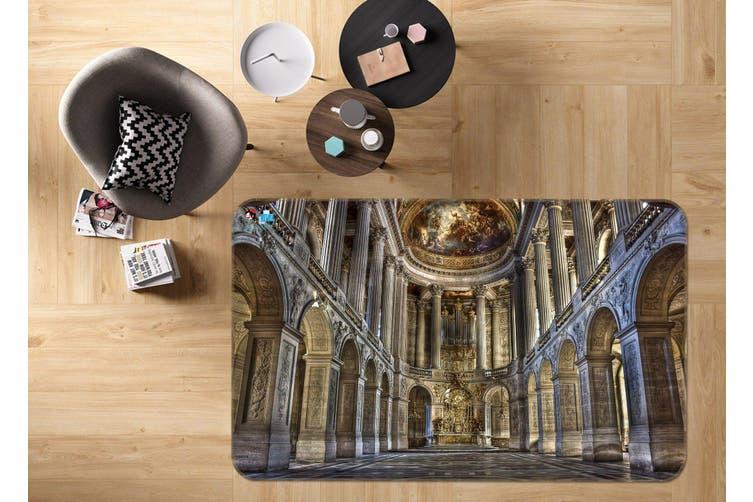 "3D Palace Corridor 356 Non Slip Rug Mat, 60cmx90cm (23.6""x35.4"")"