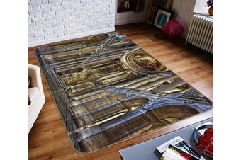 "3D Palace Corridor 356 Non Slip Rug Mat, 120cmx180cm (47.2""x70.9"")"