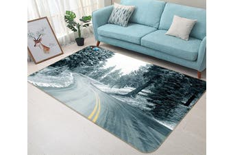 "3D Highway Tree 352 Non Slip Rug Mat, 40cmx60cm (15.7""x23.6"")"
