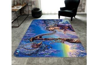 "3D Bomb Harp 341 Non Slip Rug Mat, 140cmx200cm (55.1""x78.8"")"