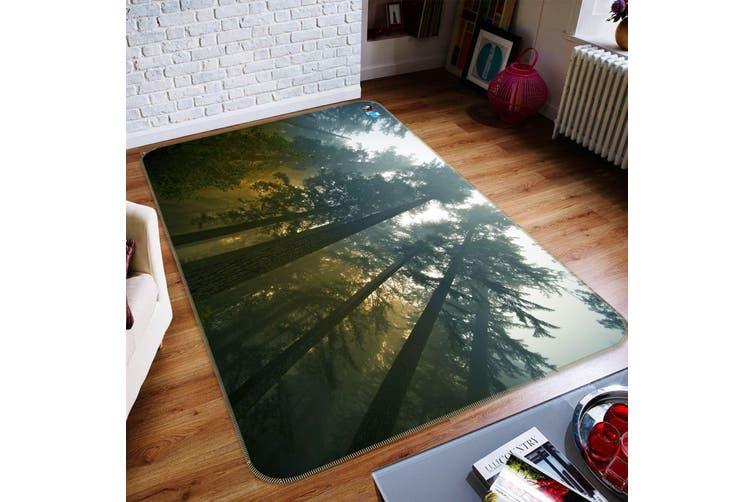 "3D Tall Tree 329 Non Slip Rug Mat, 140cmx200cm (55.1""x78.8"")"
