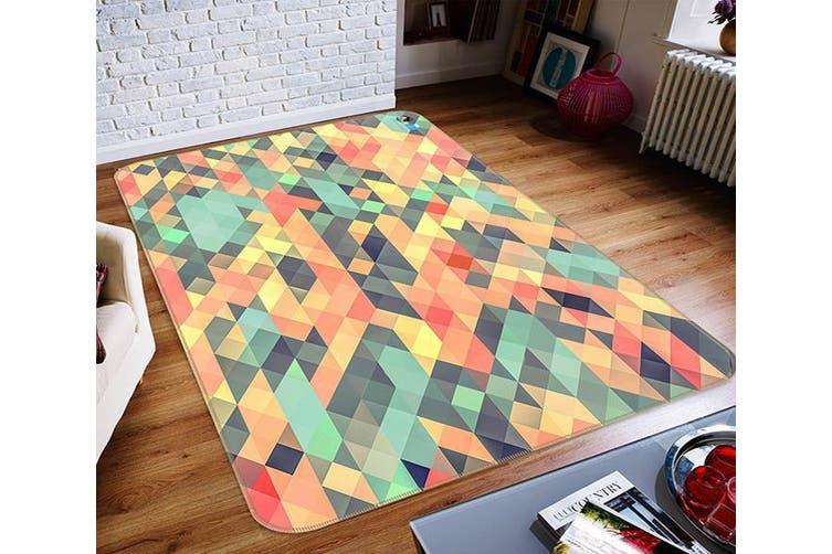 "3D Four-Corner Color 308 Non Slip Rug Mat, 140cmx200cm (55.1""x78.8"")"