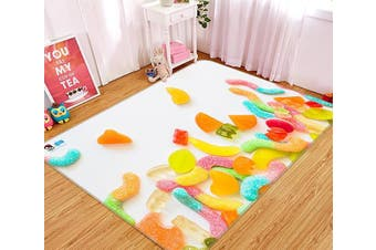 "3D Colorful Candy 194 Non Slip Rug Mat, 140cmx200cm (55.1""x78.8"")"