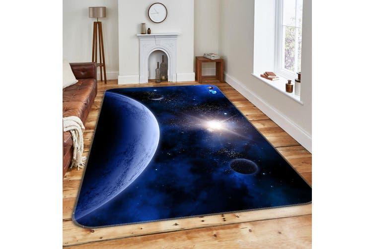"3D Starlight Planet 184 Non Slip Rug Mat, 40cmx60cm (15.7""x23.6"")"